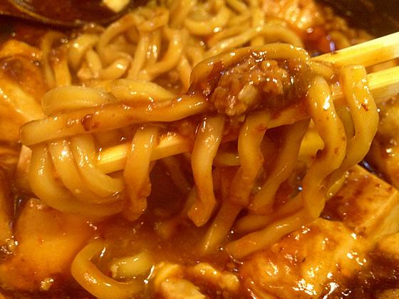 「源来酒家(げんらいしゅか)」の「麻婆麺」