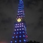 激レア! 東京タワーの「ドラえもんライトアップ」が面白い