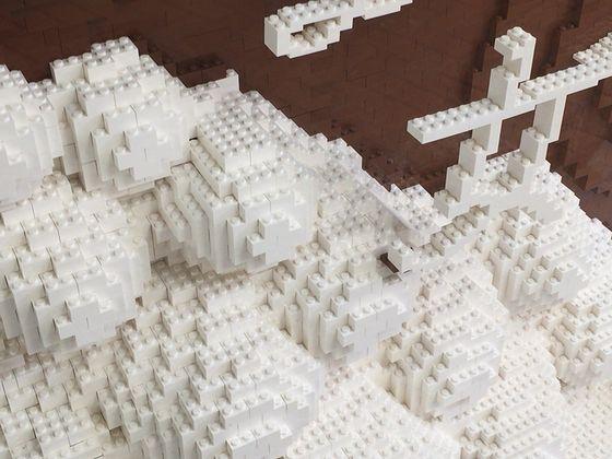 レゴ社認定プロビルダー三井淳平さん作『ラプラスの魔女』