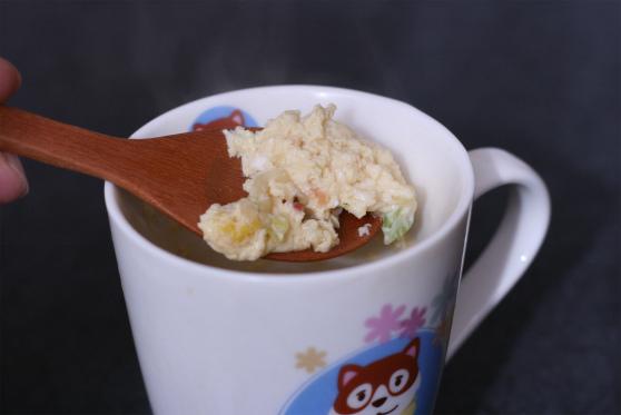 カップヌードル茶碗蒸し