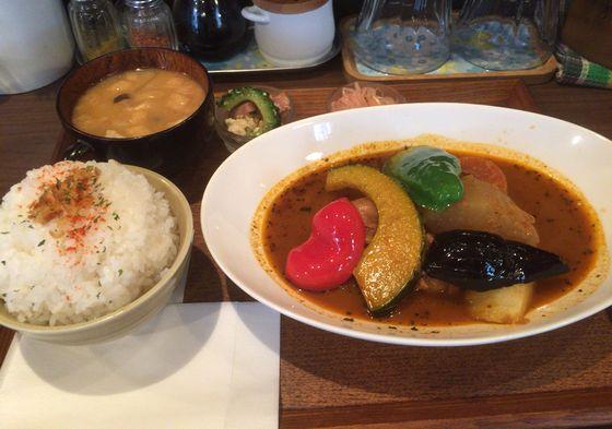神保町のタケウチのスープカレー