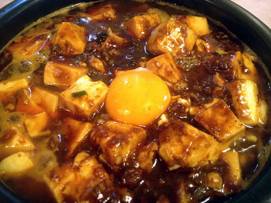 神保町の源来酒家ゲンライシュカの麻婆麺の画像