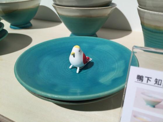 「食べるアート展」のかわいい皿