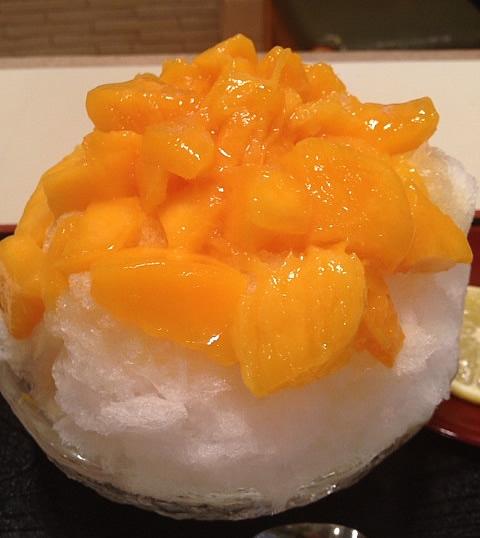だるまやの完熟マンゴーかき氷