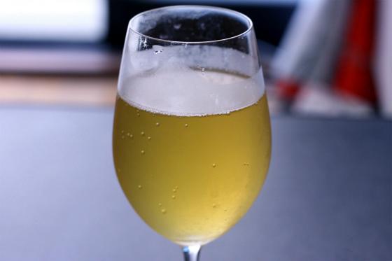 ccレモンとビールでレモンビール