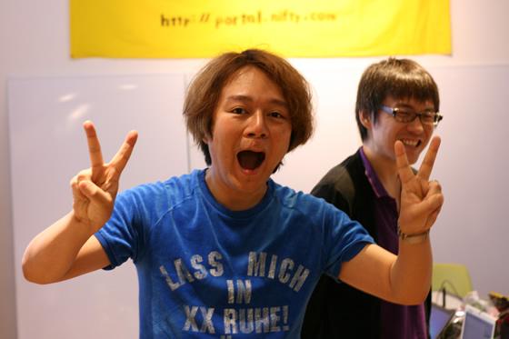 webマスターの林雄司さん