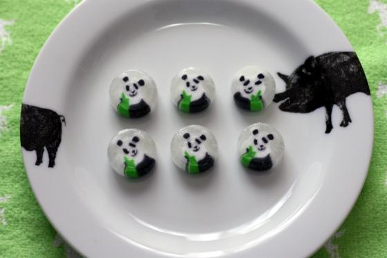 アンジェビュローのパンダキャンディ