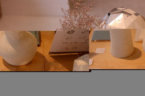 西荻紙店(にしおぎしてん)紙の花瓶