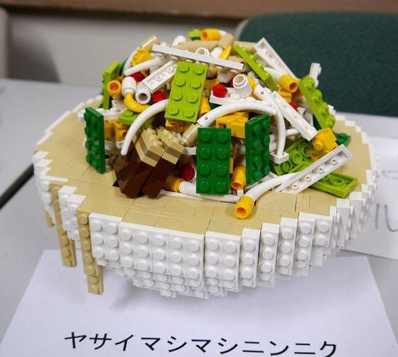東大レゴ部のラーメン二郎