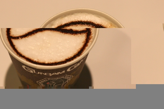 ガンダムカフェのハロラテ