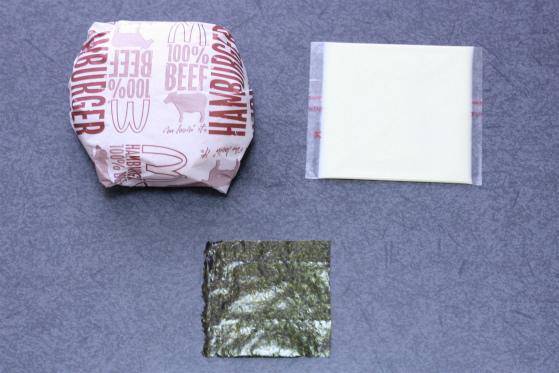 マックのハンバーガーをかわいくしたい