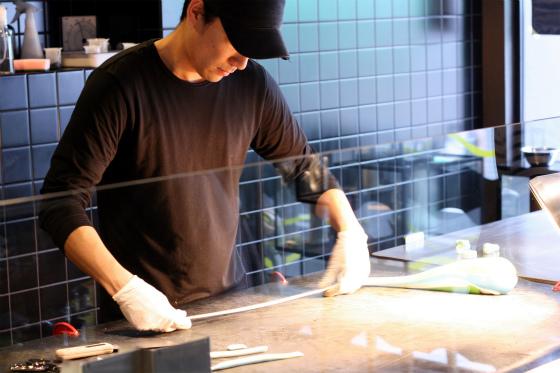 パパブブレ渋谷店の手作りキャンディ