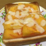 柿とチーズのトーストが簡単で驚くほどうまい(レシピあり)