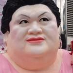 新宿駅の超巨大マツコ像を見てきた!(動画あり)