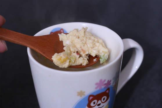 カップ ヌードル 茶碗蒸し