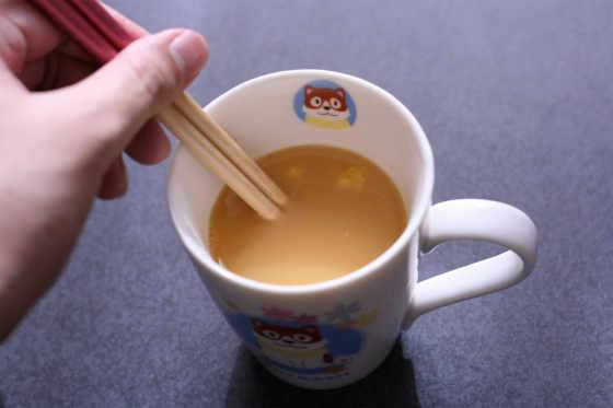 カップヌードル茶碗蒸しのレシピ