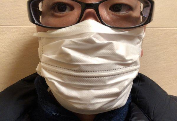 マスクした時にめがねを曇らせない方法