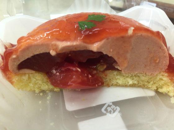 ローソンのトマトのスイーツの高リコピントマトのフロマージュ