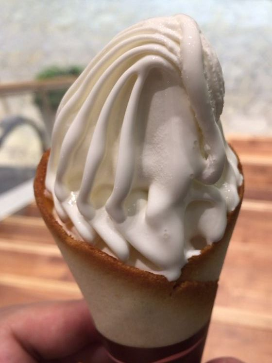 最高級ソフトクリーム「クレミア」