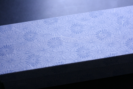 菊最中の箱