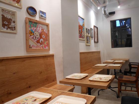 リラックマカフェ