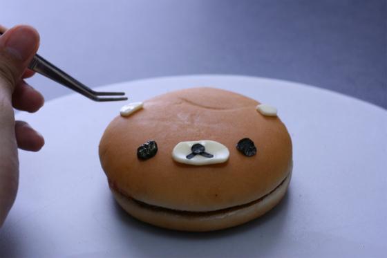 リラックマのハンバーガー