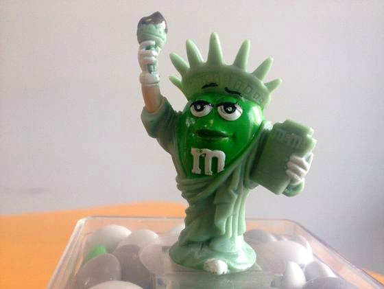 M&M'Sのニューヨークご当地バージョン