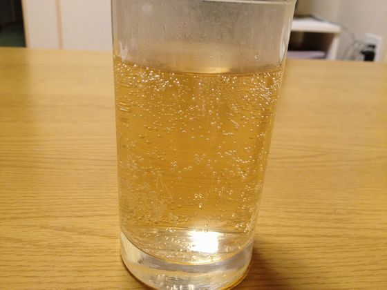 ホット炭酸のホットジンジャーエール