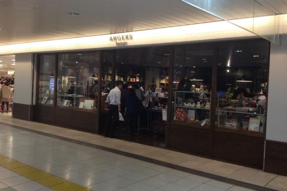 上野駅アンジェビュロー