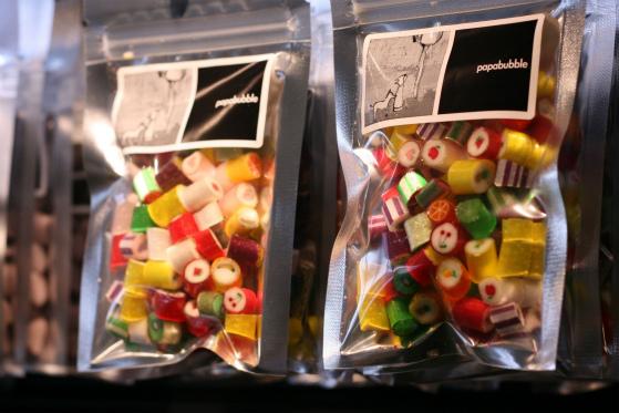 パパブブレ(papabubble)渋谷店のキャンディ