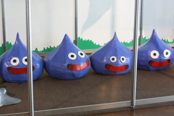勇者ヨシヒコ展のスライム