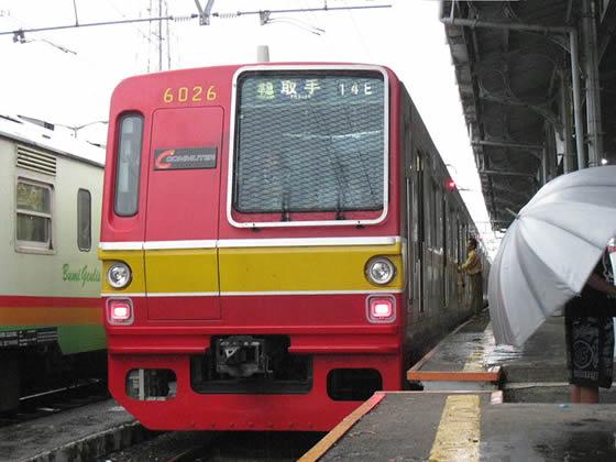 海外で活躍している日本の電車