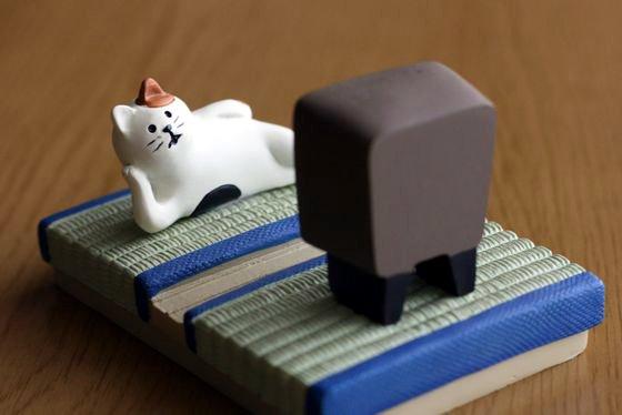 ねこのスマホスタンド「猫旅」