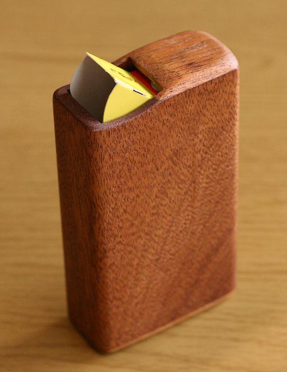 チョコボールの木製ケース
