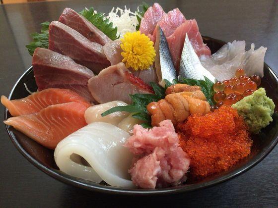 熱海「天匠」のおまかせ丼