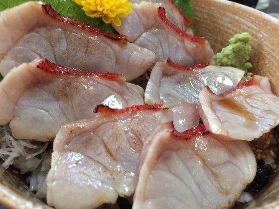 熱海「天匠」の極上とろ金目鯛炙り丼