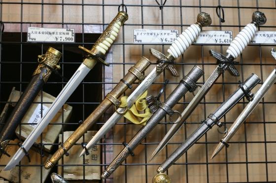 アキバの武器屋のダガー